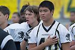 Palos Verdes, CA 11/10/11 - Jin Matsumoto (Peninsula #40) at the Peninsula-Palos Verdes varsity football game.