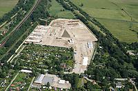 Gleisdreieck Wohnungsbau : EUROPA, DEUTSCHLAND, HAMBURG 19.06.2016: im Bau befindliches Wohngebiet Gleisdreieck Mittlerer Landweg