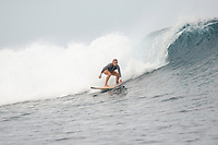 Namotu Island Resort, Nadi, Fiji (Wednesday, October 10th  2018):   - Fiji Day, A national holiday to celebrate the countries Independence. <br /> The South swell dropped overnight to around 4' with the odd bigger sets. Cloudbreak, Tavi Rights, Namotu Lefts and Wilkes all had good waves  on the dropping morning low tide. Theer were light and viable winds all morning.Photo: joliphotos.com