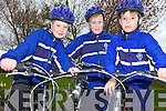 SAFETY: Pupils at CBS Primary School in Tralee taking part in the Safer Cycling Initiative at the school on Wednesday.