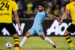 Manchester City striker Sergio Aguero during the match against Borussia at the 2016 International Champions Cup China match at the Shenzhen Stadium on 28 July 2016 in Shenzhen, China. Photo by Victor Fraile / Power Sport Images