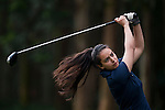 Maryama Khan of Pakistan in action during the 9th Faldo Series Asia Grand Final 2014 golf tournament on March 19, 2015 at Faldo course in Mid Valley clubhouse in Shenzhen, China. Photo by Xaume Olleros / Power Sport Images