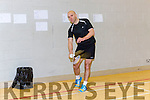 Tom Burke Tralee in action at the Munster Badminton championships in Killarney on sunday