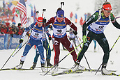 9th December 2017, Biathlon Centre, Hochfilzen, Austria; IBU Biathlon World Cup; Tatiana Akimova, Veronika Vitkova during the womens 7.5KM sprint