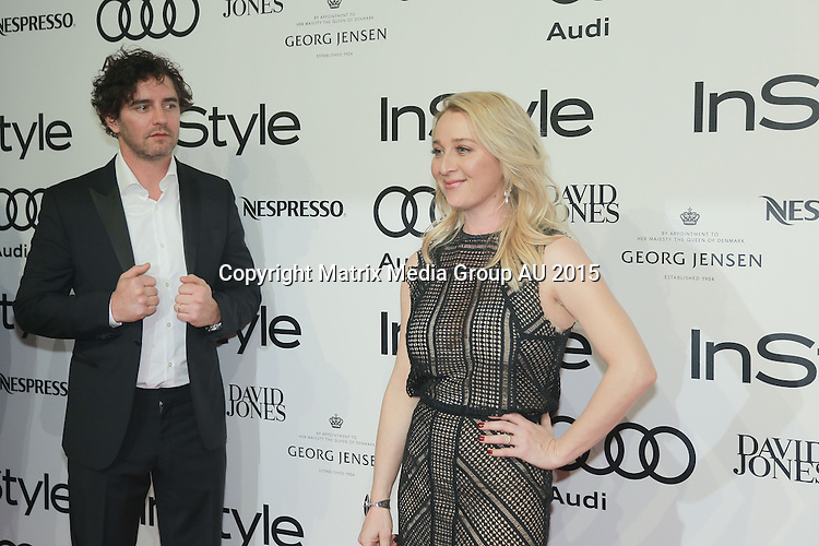 13 MAY 2015 SYDNEY AUSTRALIA<br /> <br /> NON EXCLUSIVE <br /> <br /> InStyle and Audi Women of Style Awards 2015 held at Carriageworks. Guests include Lindy and Michael Klim, Asher Keddie and Vincent Fantauzzo, Jesinta Campbell, Jessica Mauboy, Tim Omaji, Michelle Bridges &amp; Steve Willis, Jennifer Byrne, Kyly Clarke, Silvia Colloca, Carla Zampatti, Jana Wendt, Juanita Phillips, Gillian Armstrong, Marta Dusseldorp, Layne Beachley and Kirk Pengilly, Alexandra and Genevieve Smart, Danielle Spencer, Sally Obermeder, Rachael Finch, Camilla Freeman-Topper, Brendan Cowell, Anna Plunkett, Megan Washington, Jason Dundas, Samantha Armytage, Laura Dundovic, Tom Williams, Kylie Gillies, Alyssa McClelland, Samantha Harris, April Rose Pengilly, Collette Dinnigan, Charlotte Best, Grace Huang, Leona Edmiston, Terry Biviano and Anthony Minichiello, Kim Ellery.