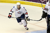 January 9th, 2009:  Jason Garrison (3) of the Rochester Amerks during the second period vs. the Syracuse Crunch at Blue Cross Arena in Rochester, NY.  Rochester defeated Syracuse 3-1 for their third straight win.  Photo Copyright Mike Janes Photography 2009