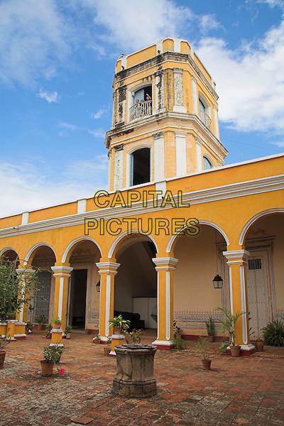 View across courtyard, Palacio Cantero, Museo Historico Municipal, Trinidad, Sancti Spiritus Province, Cuba