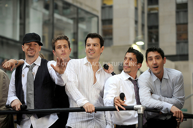 WWW.ACEPIXS.COM . . . . .....May 16, 2008. New York City,....The New Kids on the Block perform on the 'Today show in Rockefeller Plaza...  ....Please byline: Kristin Callahan - ACEPIXS.COM..... *** ***..Ace Pictures, Inc:  ..Philip Vaughan (646) 769 0430..e-mail: info@acepixs.com..web: http://www.acepixs.com