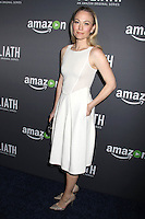 HOLLYWOOD, CA - SEPTEMBER 29: Sarah Wynter at the Amazon Red Carpet Premiere Screening of Goliath at the London West Hollywood in West Hollywood, CA September 29, 2016. Credit: David Edwards/MediaPunch