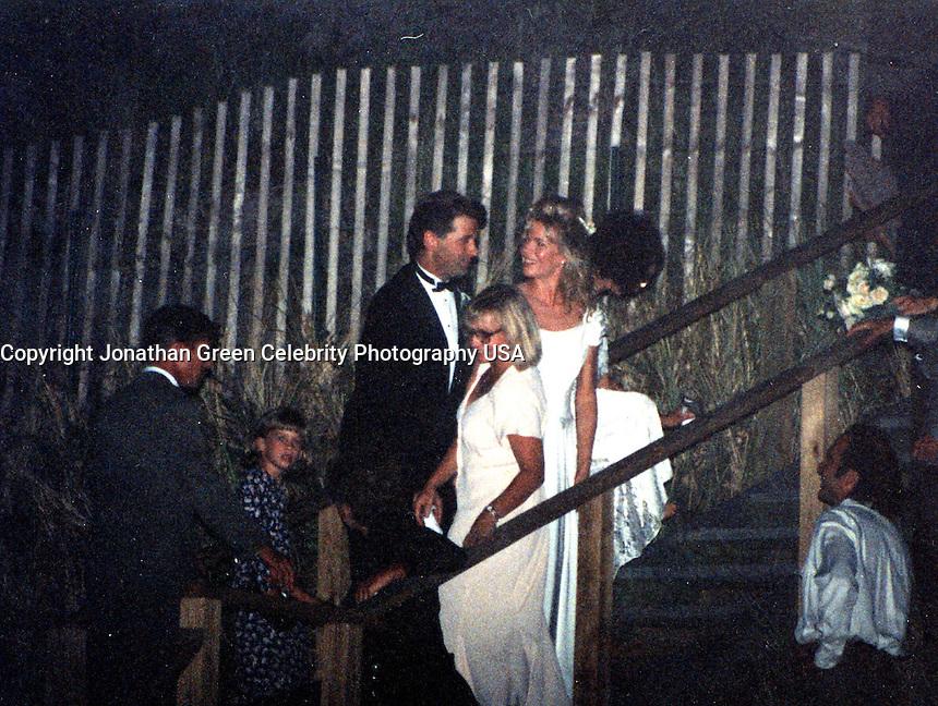 Alec Baldwin,Kim Basinger Wedding By Jonathan Green Celebrity Photography, USA