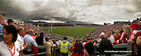 A panoramic view of Fitzgerald Stadium, Killarney taken from the new East Terrace at the start of the  Kerry V Cork Munster Football semi-final  on Sunday..Picture by Don MacMonagle
