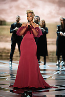 Mary J. Blige performing at the 90th Oscars&reg; at the Dolby&reg; Theatre in Hollywood, CA on Sunday, March 4, 2018.<br /> *Editorial Use Only*<br /> CAP/PLF/AMPAS<br /> Supplied by Capital Pictures