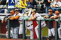 Marcota en el dogout de Caribes de Anzo&aacute;tegui de Venezuela. <br /> <br /> Aspectos del segundo d&iacute;a de actividades de la Serie del Caribe con el partido de beisbol  &Aacute;guilas Cibae&ntilde;as de Republica Dominicana contra Caribes de Anzo&aacute;tegui de Venezuela en estadio Panamericano en Guadalajara, M&eacute;xico,  s&aacute;bado 3 feb 2018. (Foto  / Luis Gutierrez)