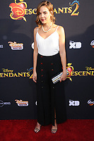 """11 July 2017 - Hollywood, California - Georgie Flores. Disney's """"Descendants 2"""" Los Angeles Premiere held at the ArcLight Cinerama Dome in Hollywood. Photo Credit: Birdie Thompson/AdMedia"""