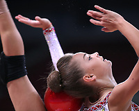 September 8, 2018 - Sofia, Bulgaria - DINA AVERINA of Russia performs during early trainings  at 2018 World Championships.