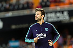 Gerard Pique of FC Barcelona warming up during their La Liga 2018-19 match between Valencia CF and FC Barcelona at Estadio de Mestalla on October 07 2018 in Valencia, Spain. Photo by Maria Jose Segovia Carmona / Power Sport Images