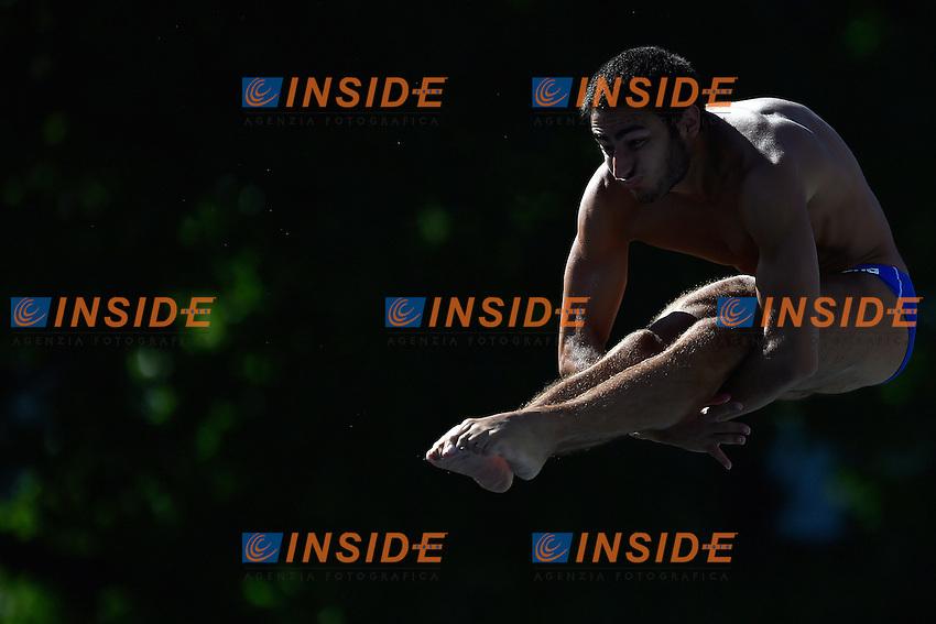TOCCI Giovanni Italia <br /> Men's 3m Springboard Preliminary - Trampolino 3m Uomini <br /> Bolzano 01-08-2014 <br /> 20 Fina Diving Grand Prix <br /> Photo Andrea Staccioli/Insidefoto