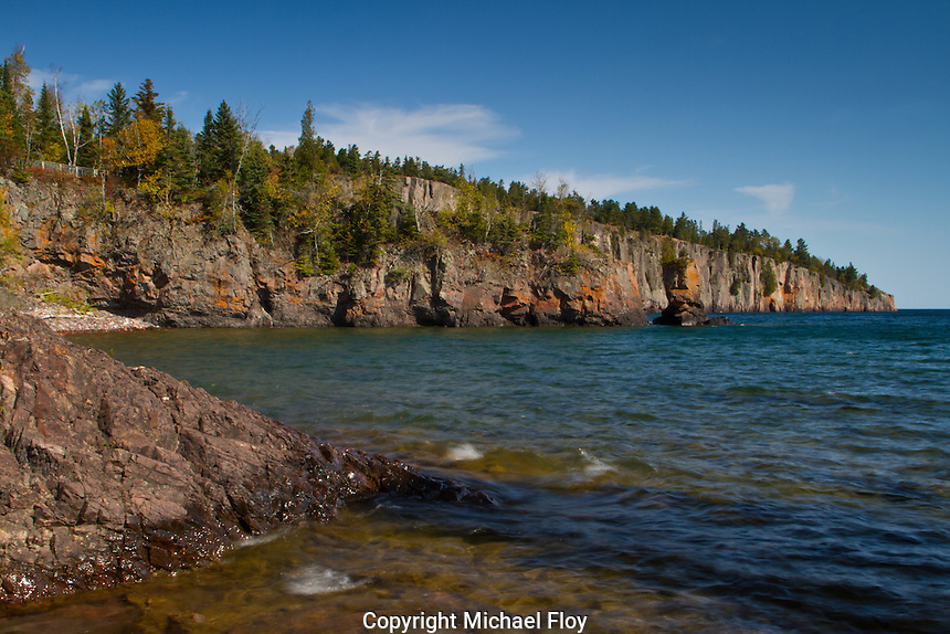 Shovel Point located in Tettegouche State Park on the North Shore of Lake Superior.