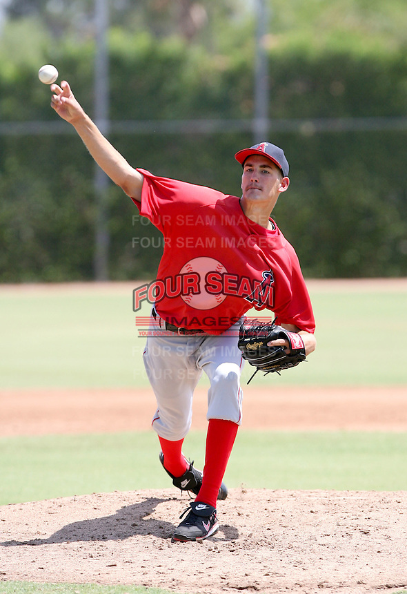 John Hellweg / AZL Angels..Photo by:  Bill Mitchell/Four Seam Images