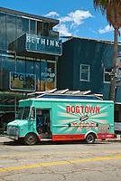 Dogtown Dogs, gourmet food truck, Abbot Kinney, Venice, Ca, Vertical