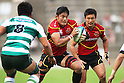 Japan Rugby Top League 2012-2013 : TOSHIBA Brave Lupus 48-33 NEC Green Rockets