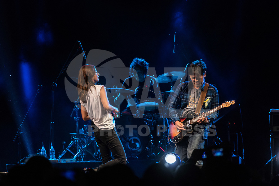 SAO PAULO, SP - 07.07.2017 - ANIME-FRIENDS - Banda japonesa Do As Infinity durante o Anime Friends no Expo Transamérica, zona sul de São Paulo nesta sexta-feira, 07.<br />
