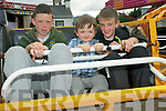 A host of children's activities took place at the Sneem Family Festival. .L-R Sean O'Reilly, Daniel O'Sullivan and Joe O'Sullivan.
