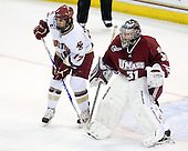 Brian Gibbons (BC - 17), Paul Dainton (UMass - 31) - The Boston College Eagles defeated the University of Massachusetts-Amherst Minutemen 2-1 (OT) on Friday, February 26, 2010, at Conte Forum in Chestnut Hill, Massachusetts.
