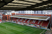 A general view of the stands prior to the Sky Bet League 2 match between Leyton Orient and Grimsby Town at the Matchroom Stadium, London, England on 11 March 2017. Photo by Carlton Myrie / PRiME Media Images.