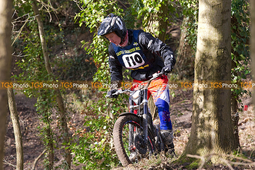 Jack Sheppard rides during the Phil King East Anglian National, Castle Colchester MCC, 1st Round of the Normandale Traditional Trials Championship - 02/02/14 - MANDATORY CREDIT: Ray Lawrence - Self billing applies where appropriate - 07774 985144 - raylph@virginmedia.com - NO UNPAID USE