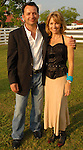 Bernard and Dee Rojano at the Cattle Baron's Ball at the George Ranch Saturday April 28,2007.(Dave Rossman/For the Chronicle)