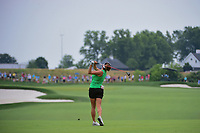 Gerina Piller (USA) hits her second shot on 8 during Thursday's first round of the 72nd U.S. Women's Open Championship, at Trump National Golf Club, Bedminster, New Jersey. 7/13/2017.<br /> Picture: Golffile | Ken Murray<br /> <br /> <br /> All photo usage must carry mandatory copyright credit (&copy; Golffile | Ken Murray)