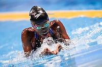 Chade Mari Nersicio CRC (born in 2001) is one of the youngest swimmers of the champinships <br /> Women's 100m breaststroke heats<br /> Swimming<br /> 15th FINA World Aquatics Championships<br /> Barcelona 19 July - 4 August 2013<br /> Palau Sant Jordi, Barcelona (Spain) 29/07/2013 <br /> &copy; Giorgio Perottino / Deepbluemedia.eu / Insidefoto