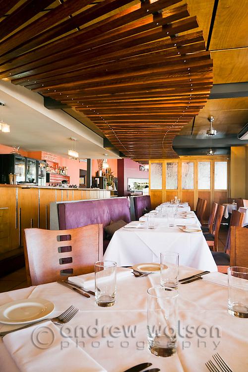 Interior of Ochre Restaurant.  Cairns, Queensland, Australia