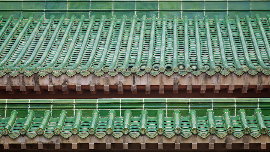 Tiled Roof, King Yin Lei, Stubbs Road, Hong Kong Island.