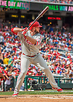 11 September 2016: Philadelphia Phillies outfielder Darin Ruf at bat against the Washington Nationals at Nationals Park in Washington, DC. The Nationals edged out the Phillies 3-2 to take the rubber match of their 3-game series. Mandatory Credit: Ed Wolfstein Photo *** RAW (NEF) Image File Available ***