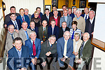 The 1965 Mid Kerry team that were honoured in the Porterhouse restaurant Killarney on Thursday night