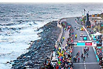 Alexander Kamp (DEN) Riwal Readynez Cycling Team outsprints Christopher Lawless (GBR) Team Ineos and Greg Van Avermaet (BEL) CCC Team to win Stage 3 of the 2019 Tour de Yorkshire, running 132km from Brindlington to Scarborough, Yorkshire, England. 4th May 2019.<br /> Picture: ASO/SWPix | Cyclefile<br /> <br /> All photos usage must carry mandatory copyright credit (&copy; Cyclefile | ASO/SWPix)