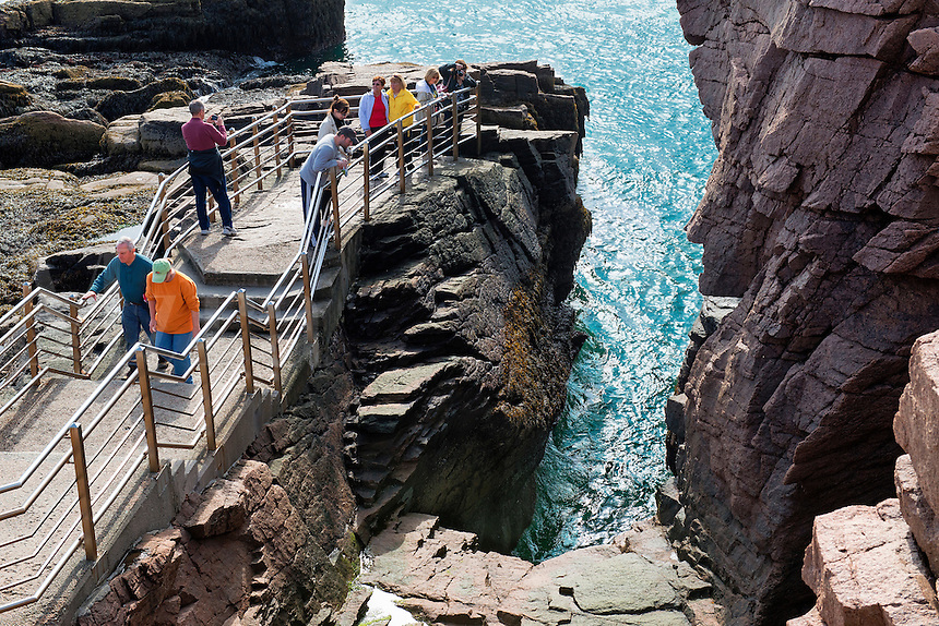Thunder Hole, Acadia National Park, Maine, USA