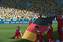 Germany flag, JULY 4, 2014 - Football / Soccer : FIFA World Cup Brazil 2014 quarter-finals match between France 0-1 Germany at Estadio do Maracana in Rio de Janeiro, Brazil. (Photo by FAR EAST PRESS/AFLO)