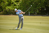 David Hearn (CAN) hits his approach shot on 16 during Round 3 of the Zurich Classic of New Orl, TPC Louisiana, Avondale, Louisiana, USA. 4/28/2018.<br /> Picture: Golffile | Ken Murray<br /> <br /> <br /> All photo usage must carry mandatory copyright credit (&copy; Golffile | Ken Murray)