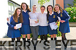 Pobalscoil Chorca Dhuibhne students Aisling de Faoite, Nicole Ní Dhubhshlaine, Niamh Ní Ghrainne, Anna Ní Mhuircheartaigh, Neasa Ní Bheaglaoich and Lucy Aghas delighted with their Junior Certificate results on Wednesday morning.