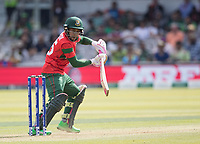 Mushfiqur Rahim (Bangladesh) guides to third for a single during Pakistan vs Bangladesh, ICC World Cup Cricket at Lord's Cricket Ground on 5th July 2019