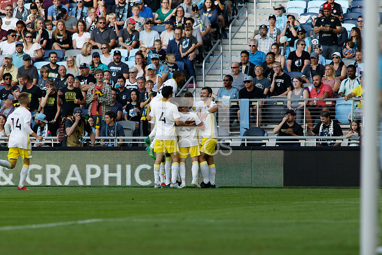 St. Paul, MN - Wednesday July 10, 2019 : Lamar Hunt U.S. Open Cup Quarterfinal match between Minnesota United FC and New Mexico United at Allianz Field Minnesota United FC defeated New Mexico United by the score of 6-1.