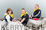 Mary and Tomas O'Neill with Caoimhe Johnson (Ballydavid) enjoying the Dingle Regatta over the weekend.