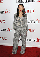 www.acepixs.com<br /> <br /> February 1 2017, LA<br /> <br /> Cara Santana arriving at the premiere Of Netflix's 'Santa Clarita Diet' at the ArcLight Cinemas Cinerama Dome on February 1, 2017 in Hollywood, California<br /> <br /> By Line: Peter West/ACE Pictures<br /> <br /> <br /> ACE Pictures Inc<br /> Tel: 6467670430<br /> Email: info@acepixs.com<br /> www.acepixs.com