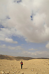 Israel, Negev, the road to Ein Tzafit