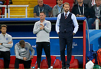 MOSCU - RUSIA, 03-07-2018: Gareth SOUTHGATE técnico de Inglaterra durante partido de octavos de final contra Colombia por la Copa Mundial de la FIFA Rusia 2018 jugado en el estadio del Spartak en Moscú, Rusia. / Gareth SOUTHGATE coach of England during match against Colombia of the round of 16 for the FIFA World Cup Russia 2018 played at Spartak stadium in Moscow, Russia. Photo: VizzorImage / Julian Medina / Cont
