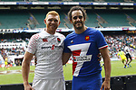 James Rodwell & Jonathan Laugel, Second day at London Sevens 2019 in Twickenham, London for the HSBC World Rugby Sevens Series.