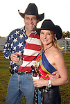 Ken and Rachel Thomson at the Cattle Baron's Ball at the George Ranch Saturday April 28,2007.(Dave Rossman/For the Chronicle)